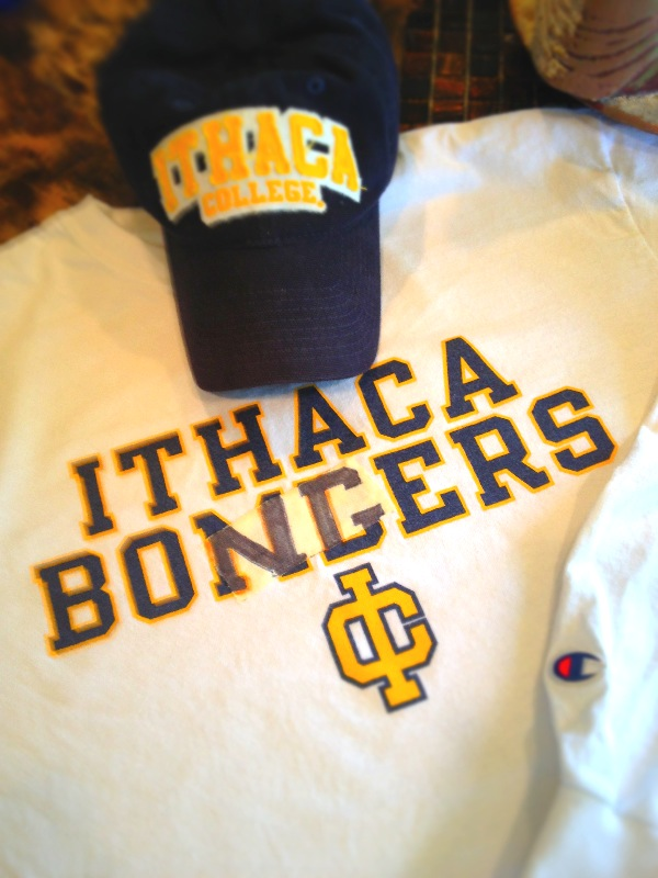 High Time for a Change. Ithaca College Rehash NIckname